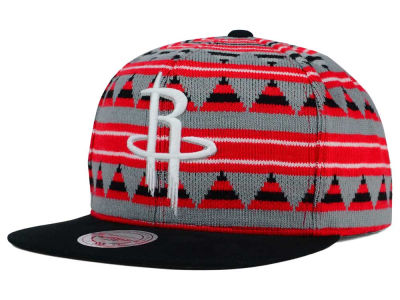 Houston Rockets Mitchell and Ness NBA Mixtec Snapback Cap