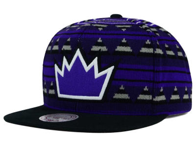 Sacramento Kings Mitchell and Ness NBA Mixtec Snapback Cap