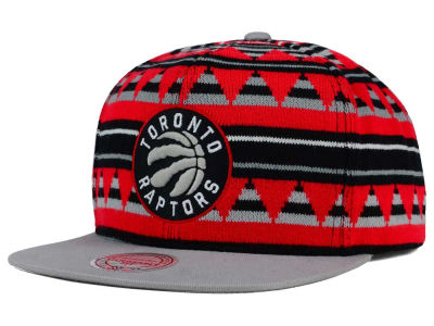 Toronto Raptors Mitchell and Ness NBA Mixtec Snapback Cap