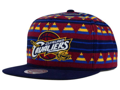Cleveland Cavaliers Mitchell and Ness NBA Mixtec Snapback Cap