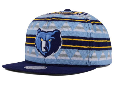 Memphis Grizzlies Mitchell and Ness NBA Mixtec Snapback Cap
