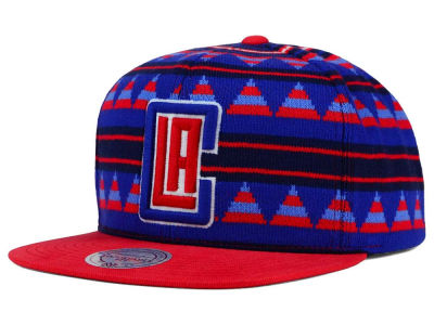 Los Angeles Clippers Mitchell and Ness NBA Mixtec Snapback Cap