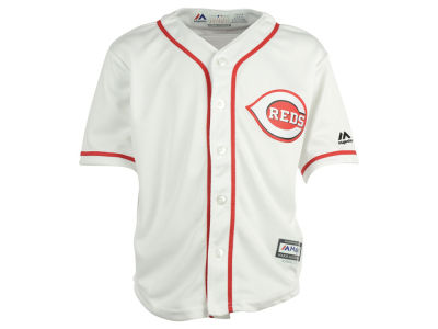 Cincinnati Reds Majestic MLB Kids Blank Replica Cool Base Jersey