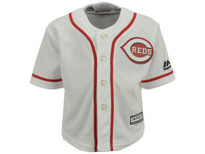 Cincinnati Reds Majestic MLB Infant Blank Replica CB Jersey