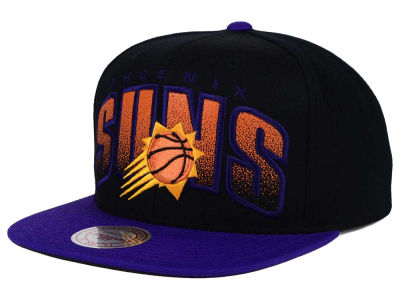 Phoenix Suns Mitchell and Ness NBA Double Bonus Snapback Cap