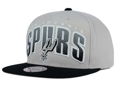 San Antonio Spurs Mitchell and Ness NBA Double Bonus Snapback Cap