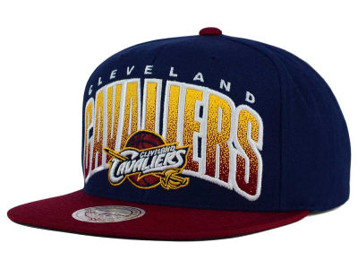 Cleveland Cavaliers Mitchell and Ness NBA Double Bonus Snapback Cap