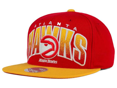 Atlanta Hawks Mitchell and Ness NBA Double Bonus Snapback Cap