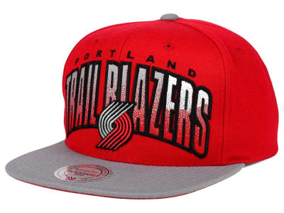 Portland Trail Blazers Mitchell and Ness NBA Double Bonus Snapback Cap