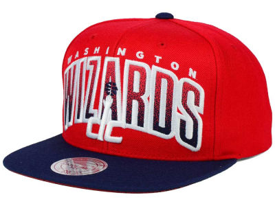 Washington Wizards Mitchell and Ness NBA Double Bonus Snapback Cap