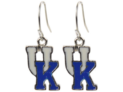 Kentucky Wildcats Enamel Interlocking Earring