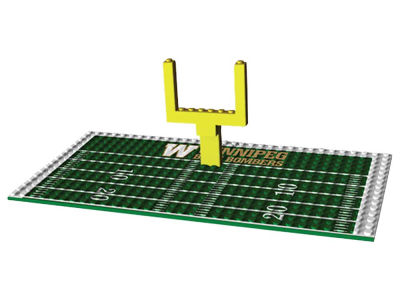 Winnipeg Blue Bombers OYO Endzone Set