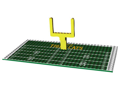 Hamilton Tiger-Cats OYO Endzone Set