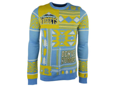 Denver Nuggets La Tilda NBA Men's Patches Ugly Sweater