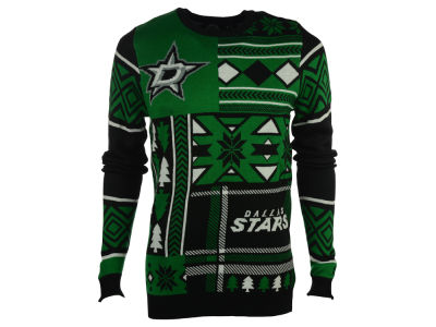 Dallas Stars La Tilda NHL Men's Patches Ugly Sweater