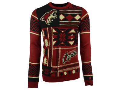 Arizona Coyotes La Tilda NHL Men's Patches Ugly Sweater