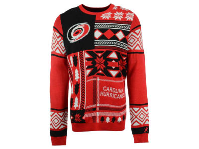 Carolina Hurricanes La Tilda NHL Men's Patches Ugly Sweater