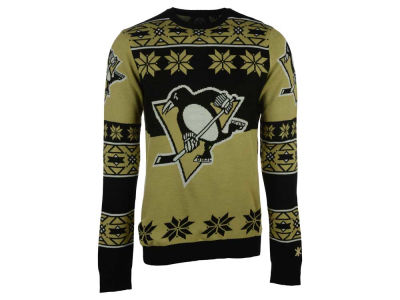 Pittsburgh Penguins La Tilda NHL Men's Big Logo Ugly Sweater