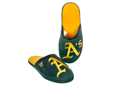 Oakland Athletics Big Logo Slippers