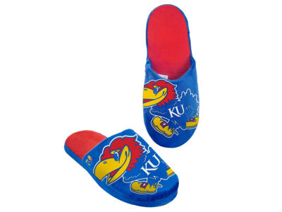 Kansas Jayhawks Big Logo Slippers