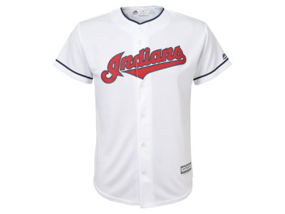 Cleveland Indians Majestic MLB Kids Blank Replica Cool Base Jersey
