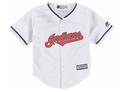Cleveland Indians Majestic MLB Toddler Blank Replica Cool Base Jersey
