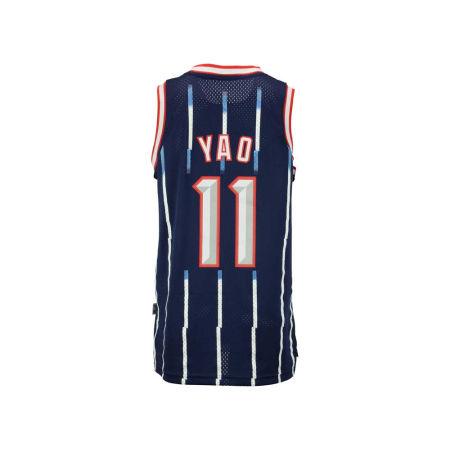Houston Rockets Yao Ming Adidas Originals NBA Men's Retired Player Swingman Jersey
