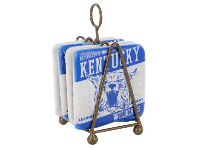 Kentucky Wildcats 4 Inch by 4 Inch Coaster Set