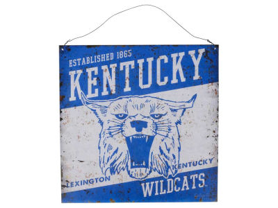 Kentucky Wildcats 12x12 Slant Tin Sign