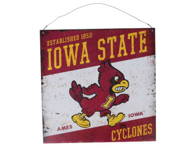 Iowa State Cyclones 12x12 Slant Tin Sign
