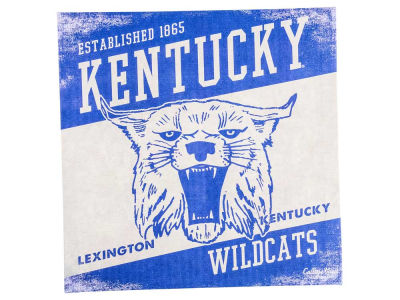 Kentucky Wildcats 14x14 Vintage Mascot Wall Art