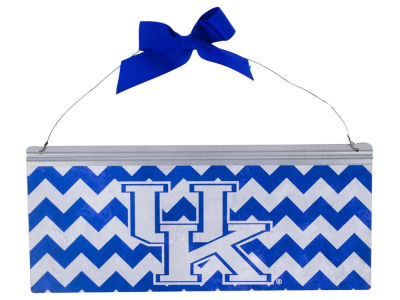 Kentucky Wildcats 12x5 Small Bow Tin Sign