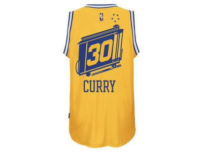 Golden State Warriors Stephen Curry adidas NBA Men's Hardwood Classic Swingman Jersey