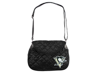 Pittsburgh Penguins Quilted Saddlebag