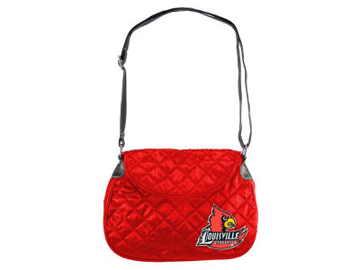 Louisville Cardinals Quilted Saddlebag