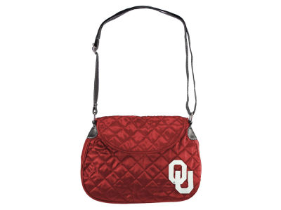 Oklahoma Sooners Quilted Saddlebag
