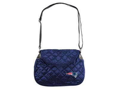 New England Patriots Quilted Saddlebag