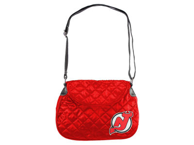 New Jersey Devils Quilted Saddlebag