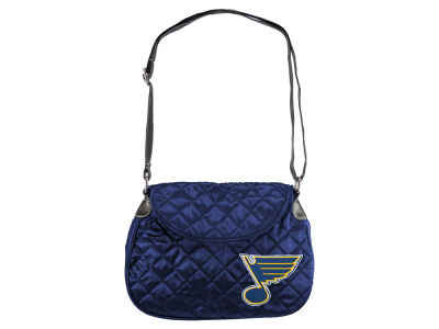 St. Louis Blues Quilted Saddlebag