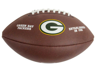 Green Bay Packers NFL Composite Football