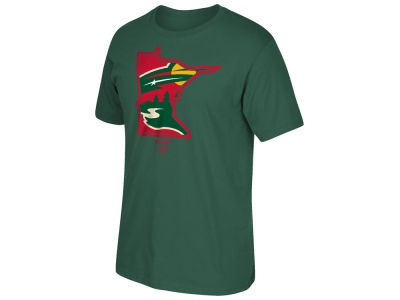 Minnesota Wild Reebok NHL Men's State of Mind T-Shirt