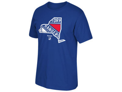 New York Rangers Reebok NHL Men's State of Mind T-Shirt