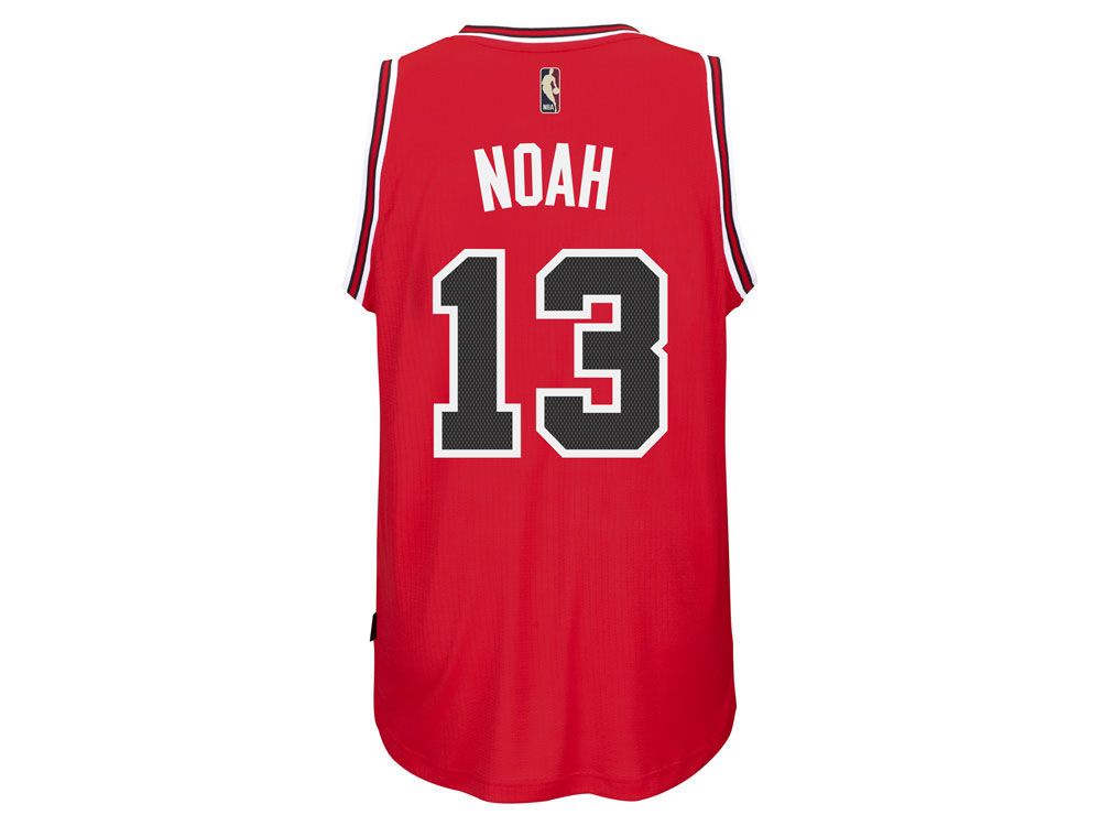 b656afd9d Chicago Bulls Joakim Noah adidas NBA Men s Hardwood Classic Swingman Jersey