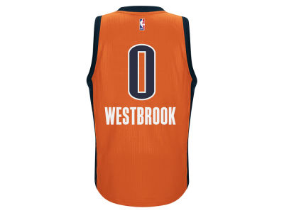 Oklahoma City Thunder Russell Westbrook adidas NBA Men's New Swingman Jersey