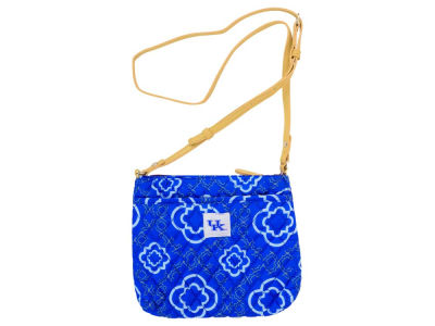 Kentucky Wildcats Quilted Cross-Body Purse