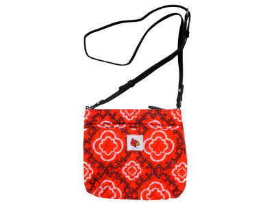 Louisville Cardinals Quilted Cross-Body Purse