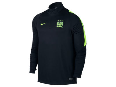 Manchester City Nike Men's Club Team Decept Drill 1/4 Zip Long Sleeve Shirt