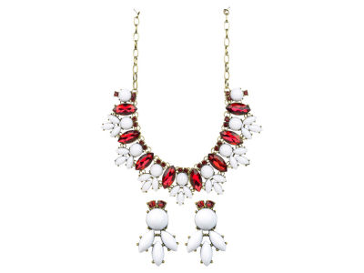 Oklahoma Sooners Rose Necklace