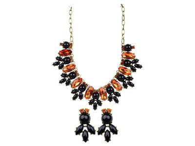 Oklahoma State Cowboys Rose Necklace