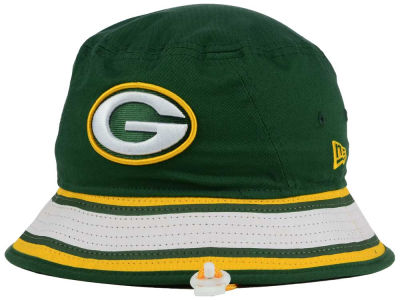 Green Bay Packers New Era NFL Team Stripe Bucket
